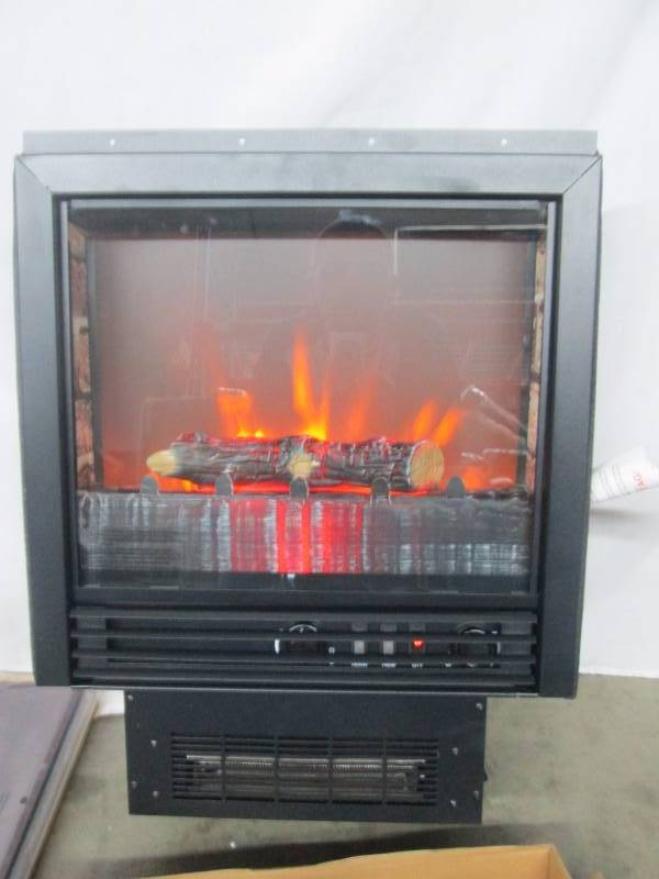 Franklin Electric Fireplace Heater With Mantel April Store Returns And Consignments 4 K Bid