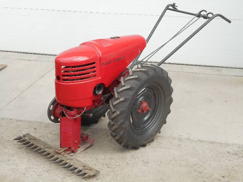 Rare Find: Antique David Bradley Sickle Mower | LE April
