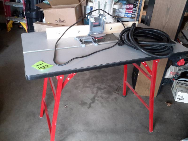 Bosch ra 1200 deluxe router table and roll of dust hose tools bosch ra 1200 deluxe router table and roll of dust hose tools tools bosch and many others new and lightly usedlots of hardware too k bid keyboard keysfo Choice Image
