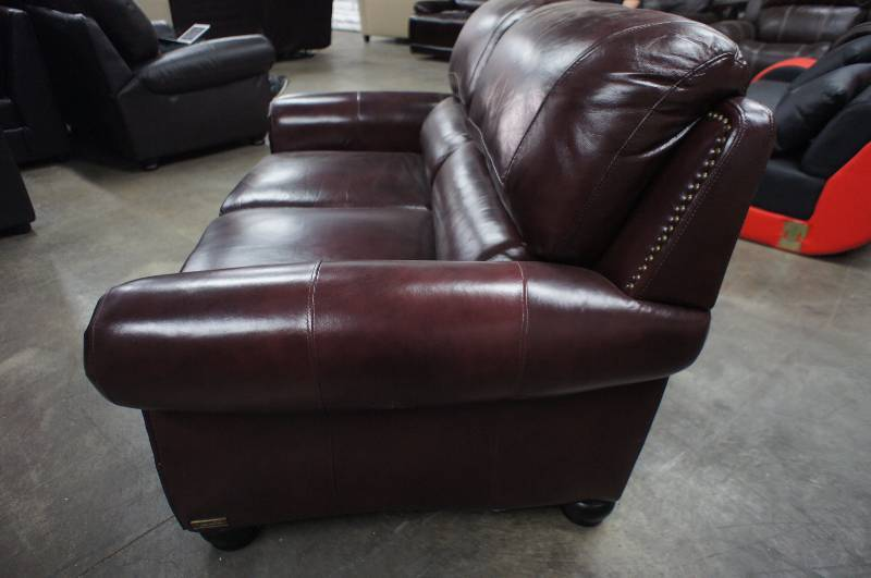 High end annabelle collection leather love seat name for High end furniture brand names