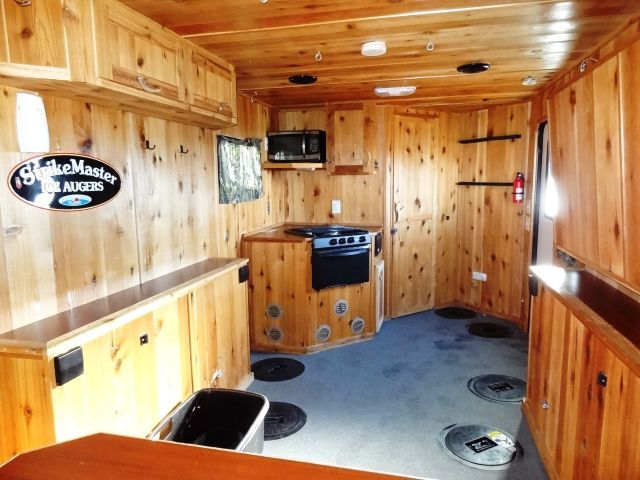 2008 lodge fish house by distinct builders april rv for Lodge fish house