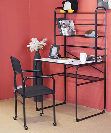 Alcove Student Desk Hutch Chair Set Black Half A Home 112 Household And General Auction K Bid