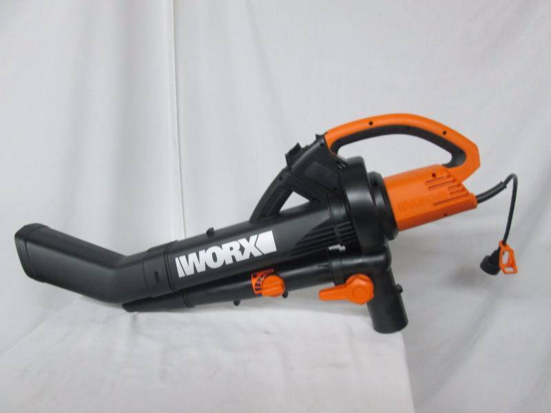 Worxtrivac Leaf Blower : Worx trivac leaf blower and vacuum may store returns