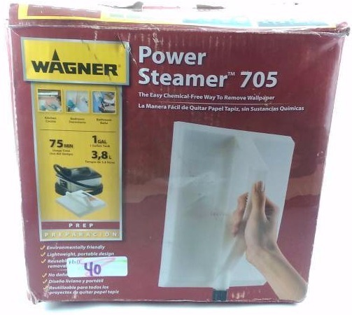 Wagner 705 128 Oz Wallpaper Steamer Home Depot General