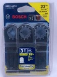 Bosch 1-1/4-Inch Multi-Tool Japanese-Tooth Precision Plunge Cut Blade - 3 Pk