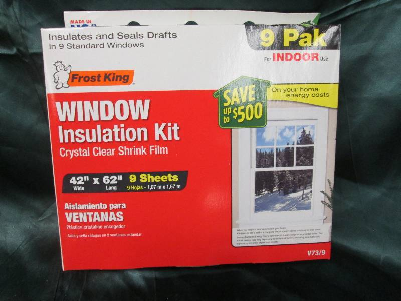 Frost king indoor window insulation stanley dewalt for Window insulation kit