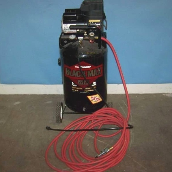 Coleman Powermate Black Max Air Compressor With Hose