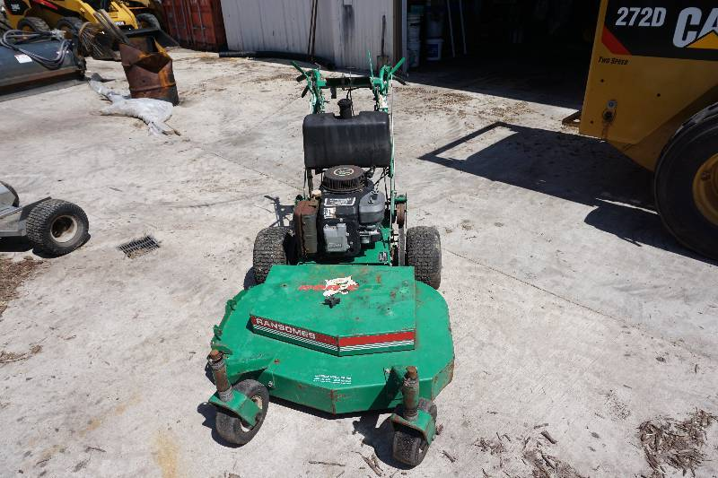 Ransomes Bobcat Walk Behind Commercial Lawn Mower