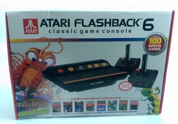 Atari flashback 6 classic game console target general - Atari flashback 3 classic game console ...