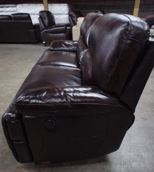 High end ams collection power dual reclining love seat for High end furniture brand names