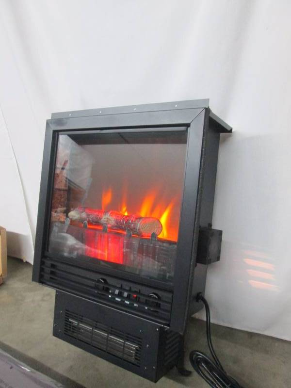 Franklin Electric Fireplace Heater With Mantel May Store Returns And Consignments 4 K Bid