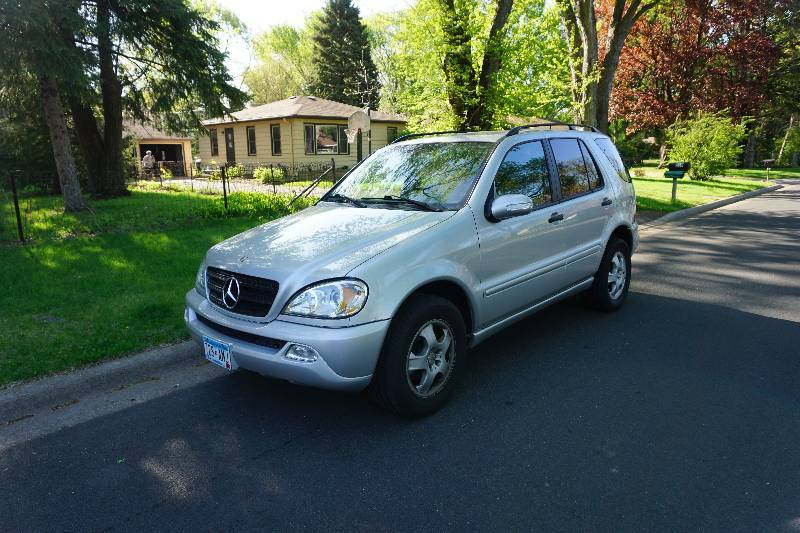 2003 mercedes benz ml350 4 door all wheel drive suv for 2003 mercedes benz suv
