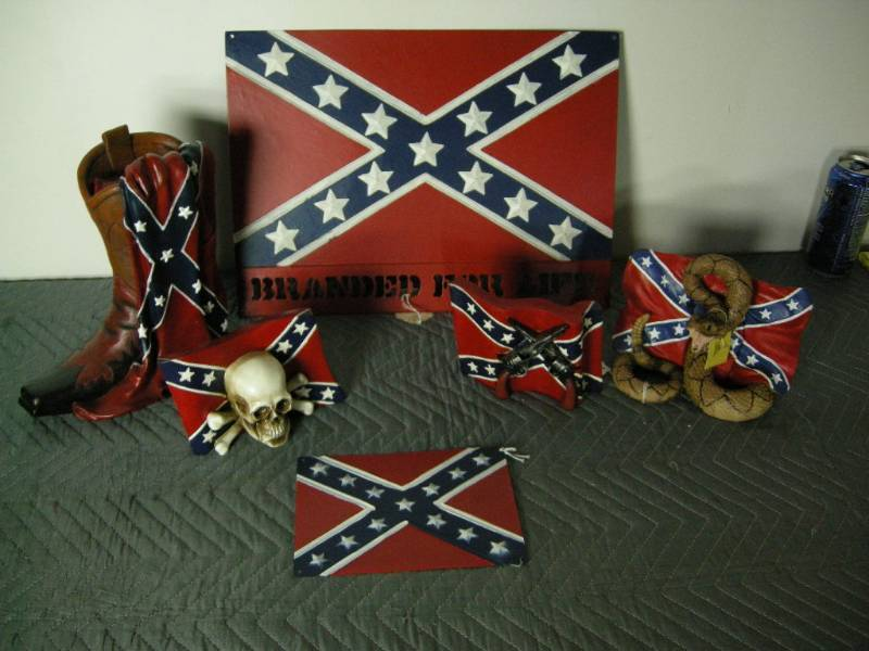Confederate Rebel Flag Items | More Country, Cabin, and ...
