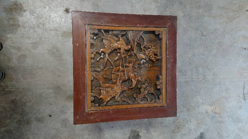 Antique Japanese wood carving table 2 | Bobcat, Lawn Mower ...