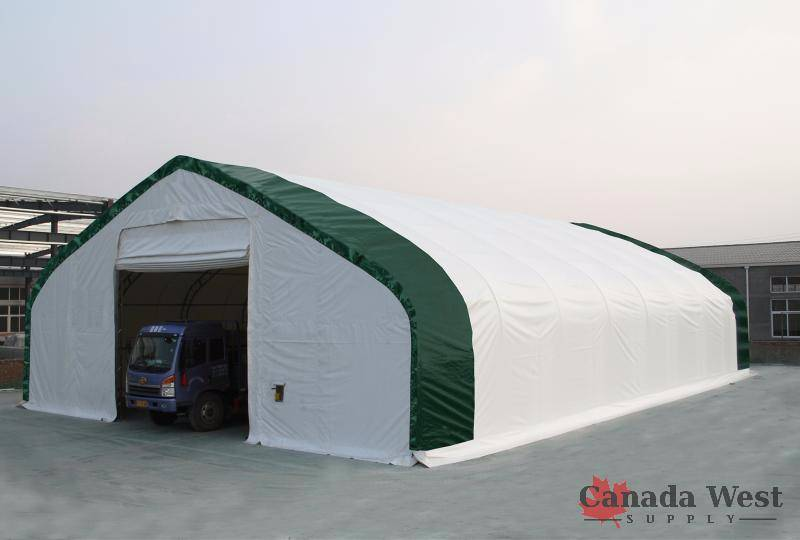 The first 2 pictures are a 30 Wide version We have included pictures of other Ex&les of Double truss buildings which we have sold in the past . & NEW FABRIC STORAGE BUILDINGS u0026 RENTAL GRADE PARTY TENTS ...