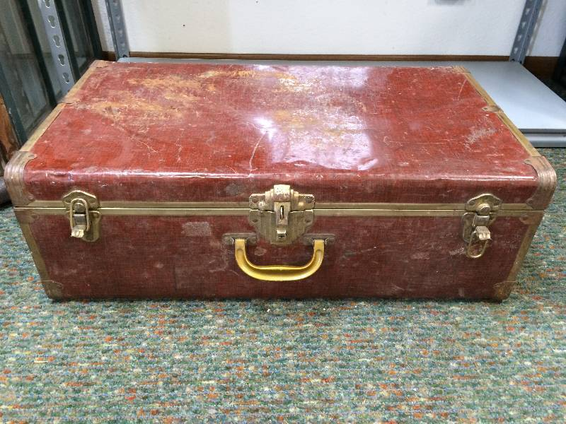 antique metal trunks household vintage furniture and collectibles in fargo north