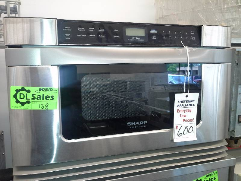 Sharp Insight Pro Microwave Drawer Sheyenne Appliance