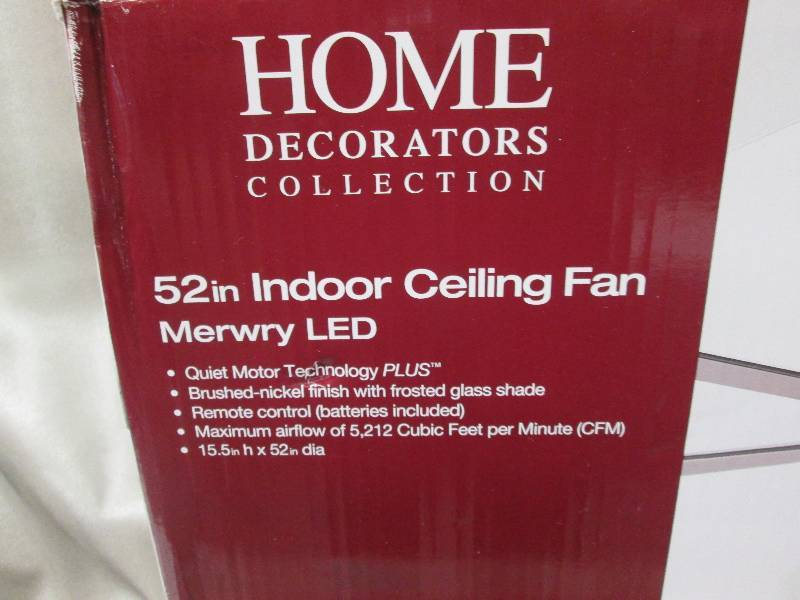 Home decorators collection model lights ceiling for Home decorators merwry