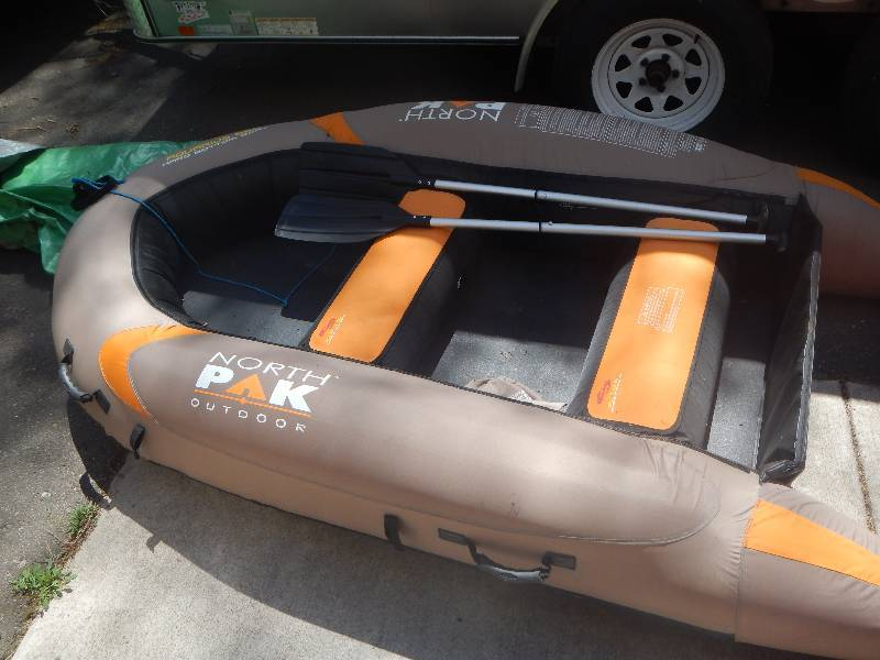 North Pak Outdoor Hard Bottom Boat | Cabin Moving Sale | K-BID