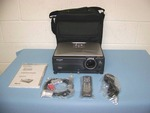 Sharp, XG-C455W, LCD Projector with Remote Control, Cables and Travel Bag