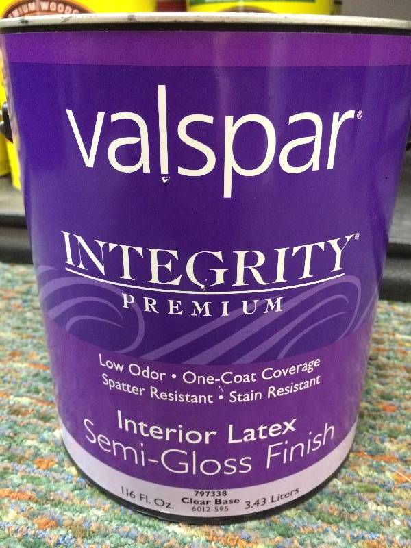 Stain paint and sealer in fargo north dakota by red river valley auctions for Valspar integrity exterior paint