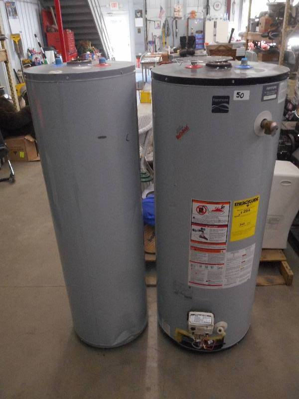 2 used kenmore hot water heaters le june for Used hot water heater