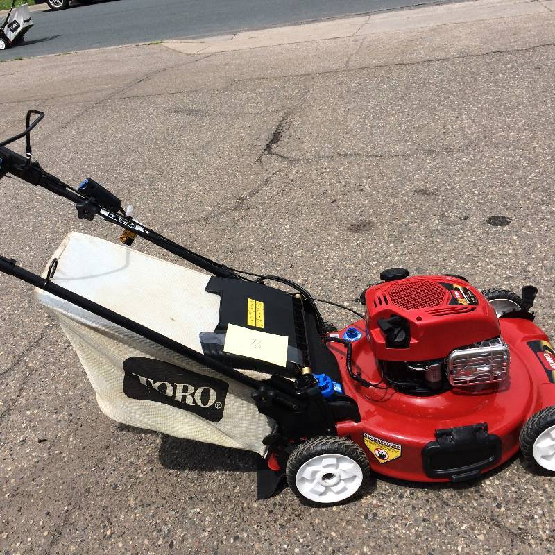 Toro Recycler 22 In Personal Pace Variable Sd Self Propelled Electric Start Gas Lawn Mower With Briggs Stratton Engine Model 20334 Kx Real Deals