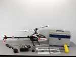 Mikado RC Helicopter w/ Remote Control & Many Accessories