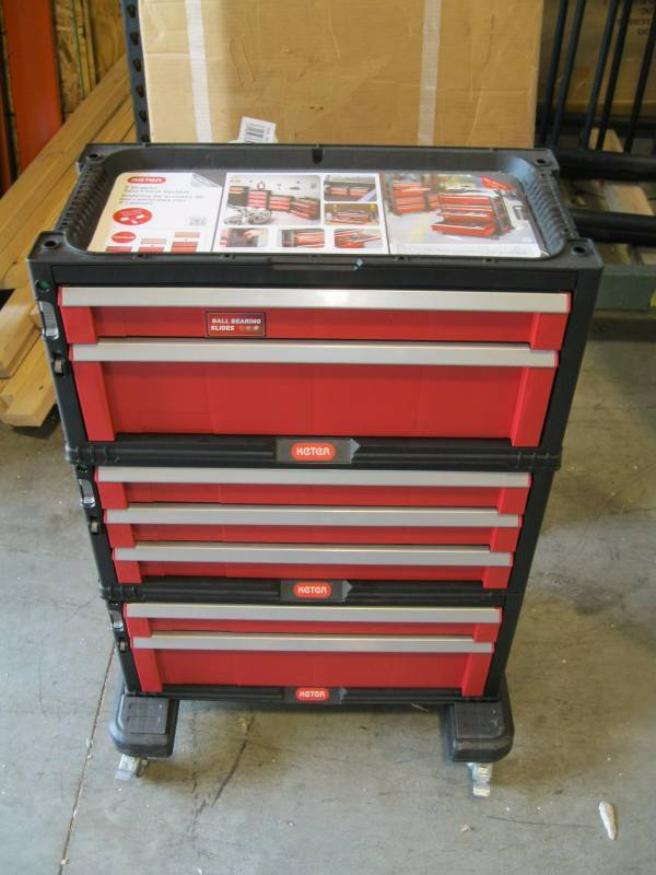Keter 7 Drawer Modular Tool Chest S Material Handling