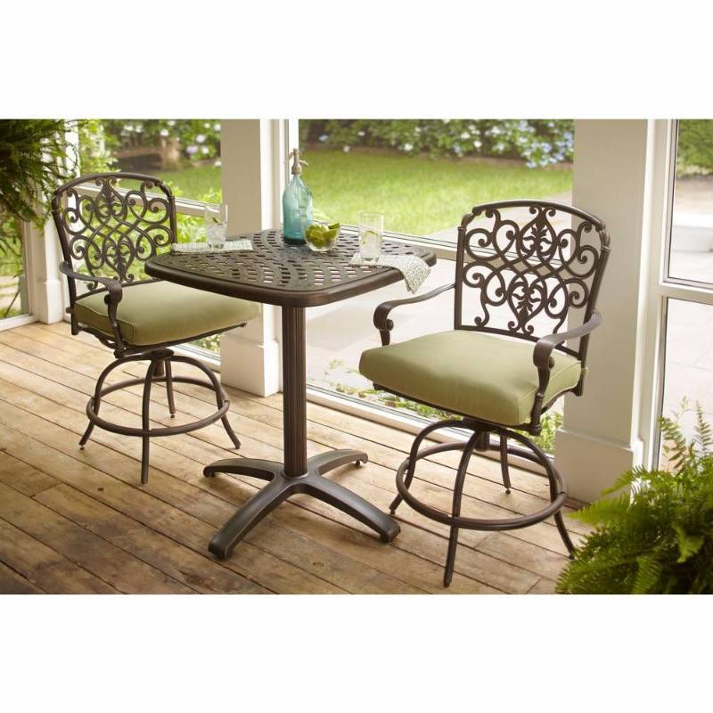 Edington 3 piece patio balcony set new kx real deals for Patio furniture specials