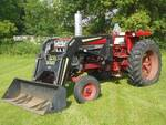 International Farmall 666 Tractor W...