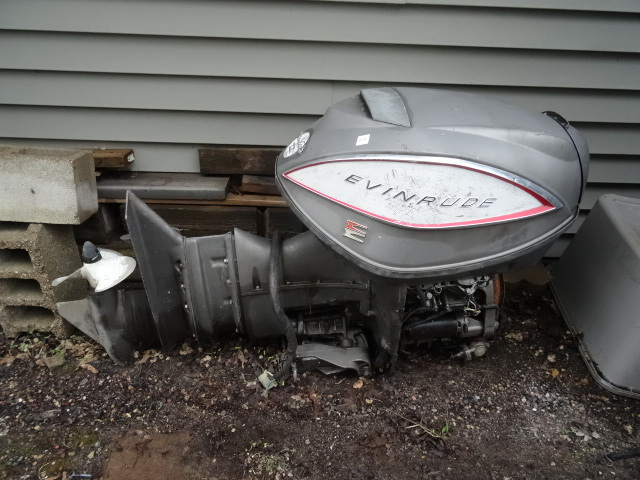Evinrude Star Flite Outboard Motor Electric Shift Model