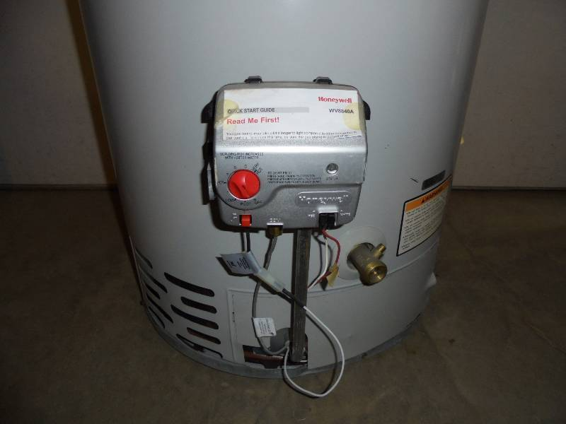 Bradford Water Heater  Gallon Natural Gas