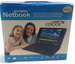"EZbook Portable 7"" Netbook Laptop Computer PC WiFi 2GB SSD Black"