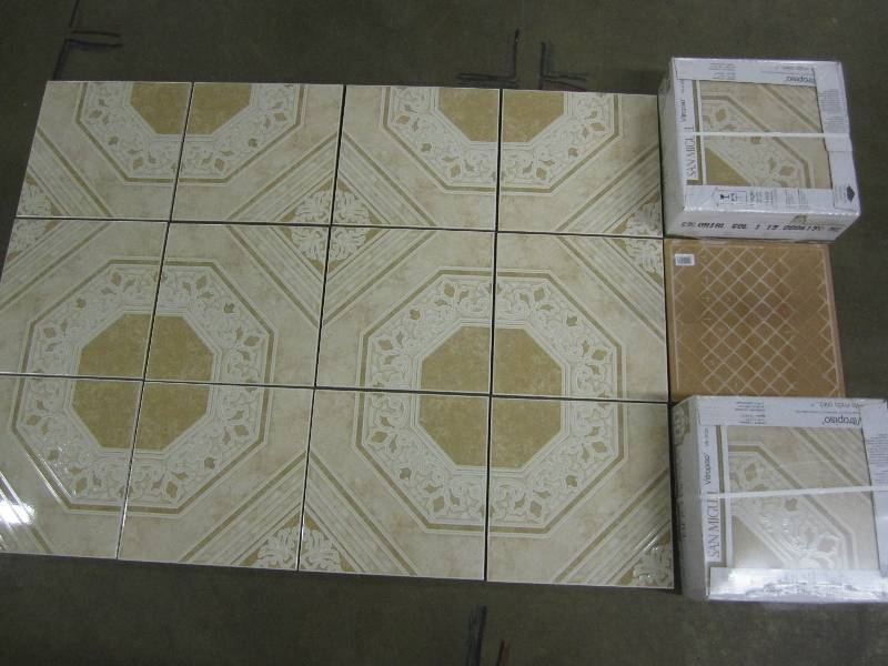 Colonial Gold Vitropiso Ceramic Floor Tile Liquidation