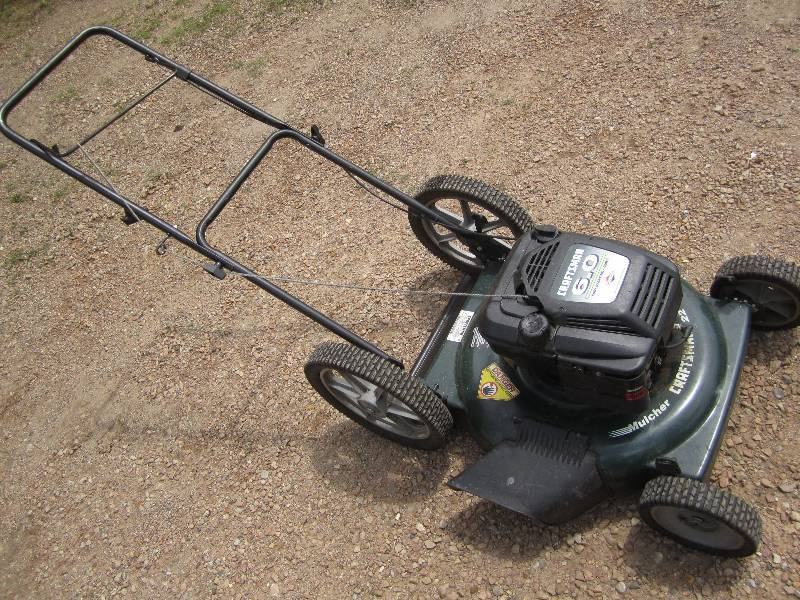 how to fix pull start on mower