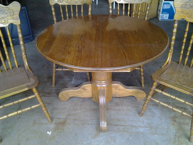 42 inch round pedestal table with 2 8 inch leaves 4 for 42 inch round pedestal table