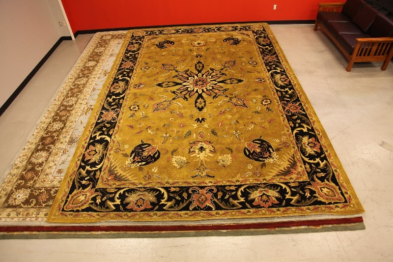 Chamberlain Large Area Rug 12 X 18 Gold High End