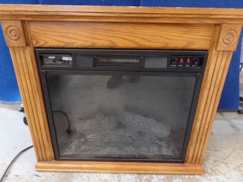 Electric Fireplace M A Williams July Consignments 2 K Bid