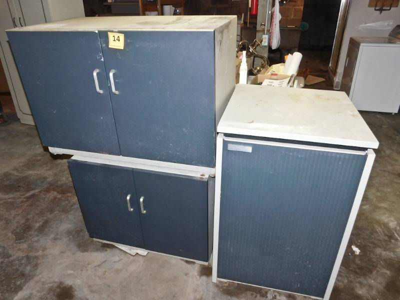 pieces of office storage equipment in useable condition twc long