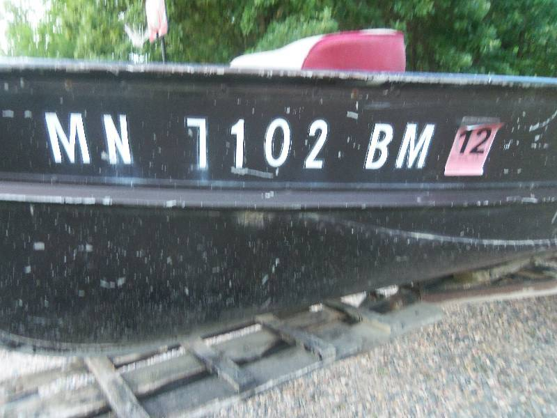 Lund boat trailer july consignment 7001 k bid for Lifetime fishing license mn
