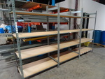 Shelving Unit Metal Framed