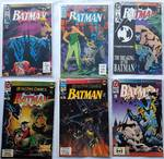 Lot of 6. DC Comics - Batman