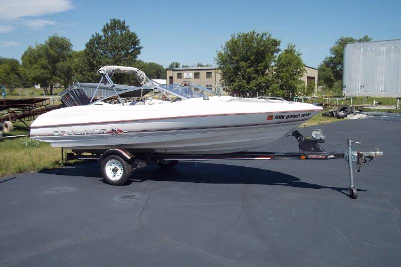 1990 Bayliner Capri with trailer | Advanced Sales Outdoor