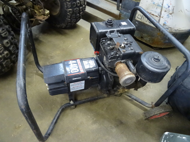 Homelite 4400 Gas Generator | K & C Auctions Norwood 11 ...