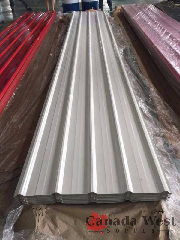 New Steel Siding 12 Ft White 70 Sheets 29 Gauge New Tool