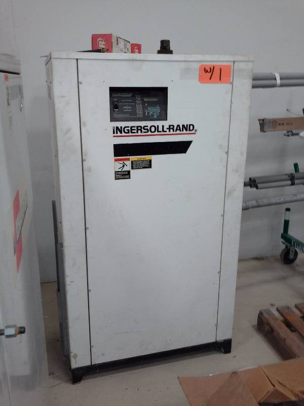 Ingersoll Rand Ssr Ep60 Air Compressor And Dxr425 Dryer