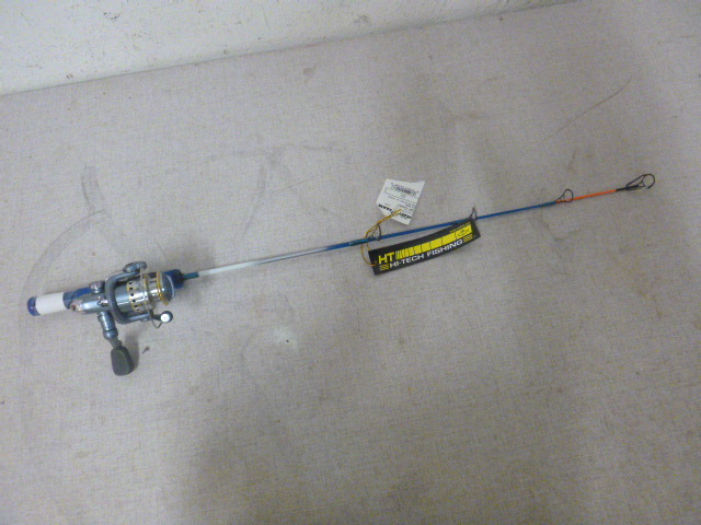 Ht ice fishing rod and reel northstar kimball august for Ht ice fishing