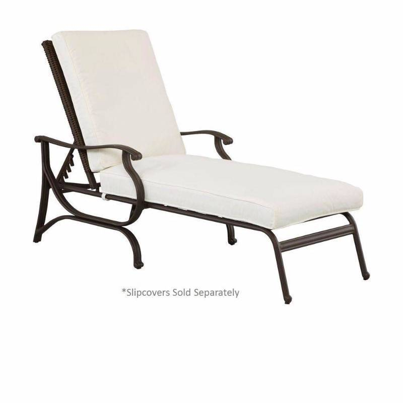 Hampton bay chaise lounges pembrey patio chaise lounge for Chaise de patio