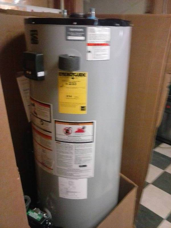 Kenmore Water Heater >> Kenmore Elite 50 Gallon Gas Water Heater - Energy Star ...